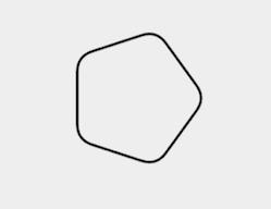 Полигон с ефект на ъглов път