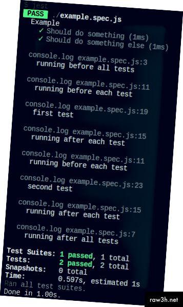 Zkoumání různých testovacích funkcí