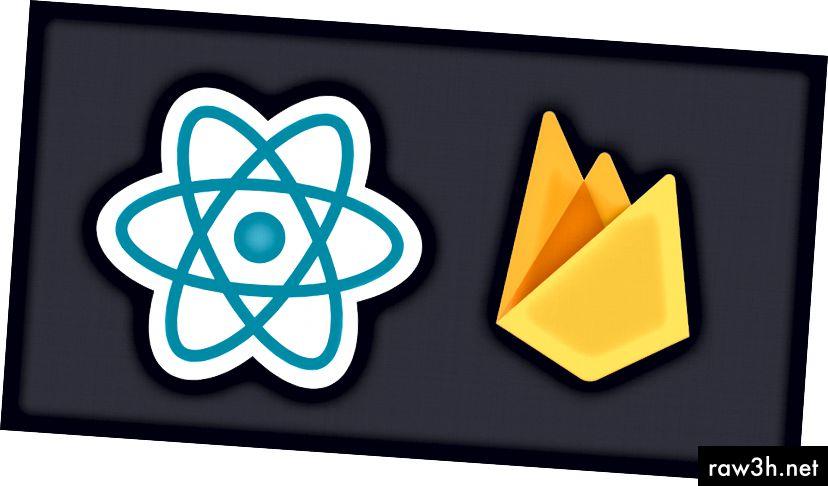 React + Firebase (المصدر: https://css-tricks.com/wp-content/uploads/2017/06/reactfirebase.png)
