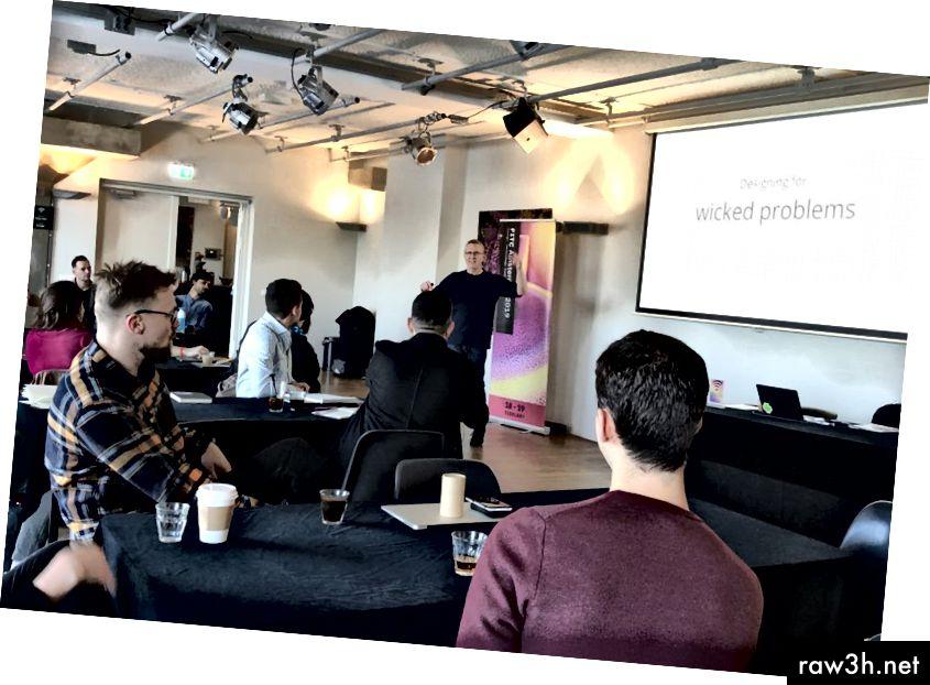 ديفيد تقديم في FITC أمستردام 2019