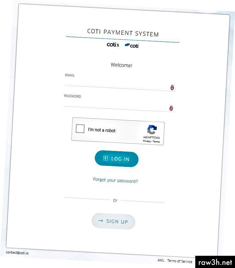 CPS (نظام الدفع COTI) ، المهرب إلى شبكة COTI