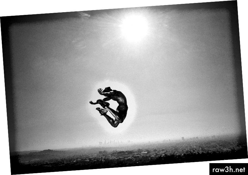 Снимайте за танцовия проект в Лос Анджелис, от Джош С. Роуз, 2018. Leica M-P & 21mm Super Elmar.
