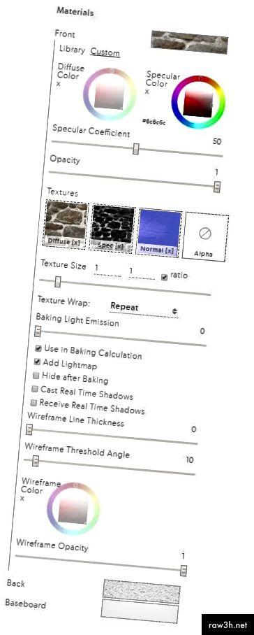 قائمة المواد المتقدمة