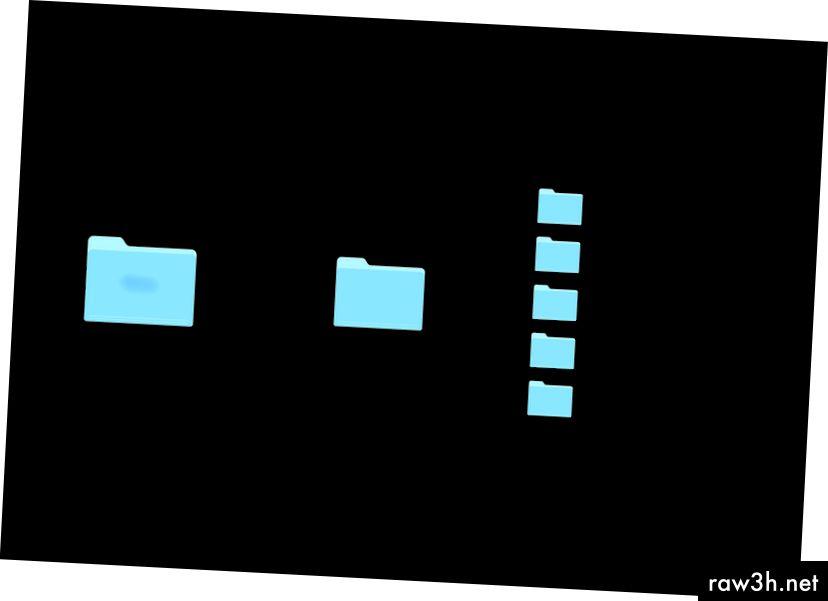 Фигура 2: Стартиране на структурата на папките