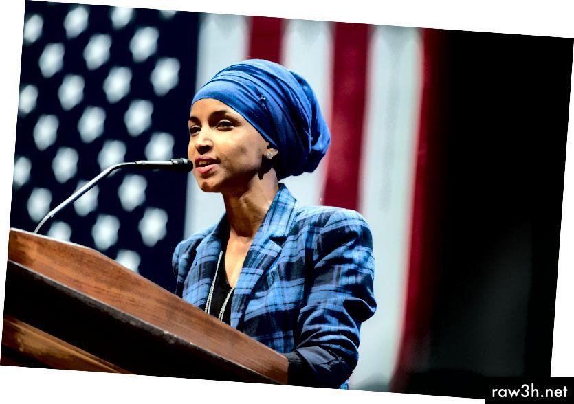 Congressista Ilhan Omar - Fotografia de Lorie Shaull