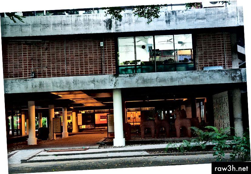 المعهد الوطني للتصميم ، أحمد آباد. صورة سوميت بارواه