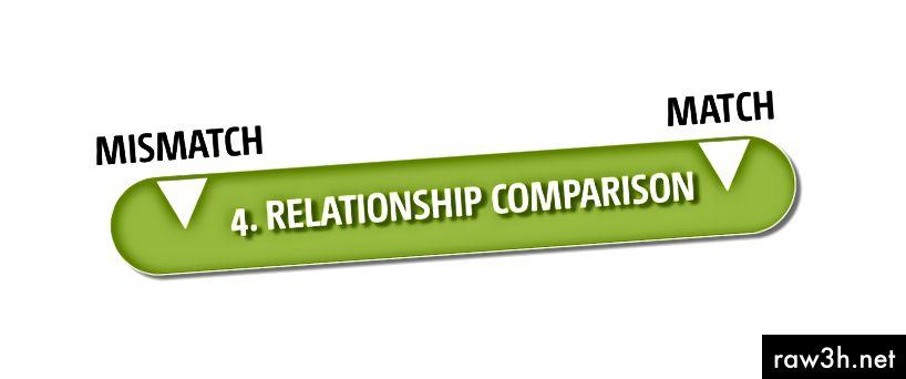 الشكل 5: برنامج مقارنة العلاقة الوصفية