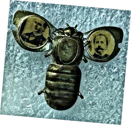 McKinley-kampagne af guldbugspinde med tilladelse fra Pennsylvania State Museum