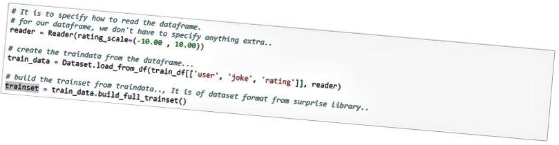 подгответе данни в изненадващ библиотечен стил