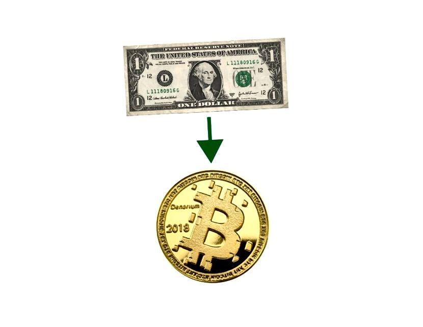 A készpénzt kriptográfiává alakítsa