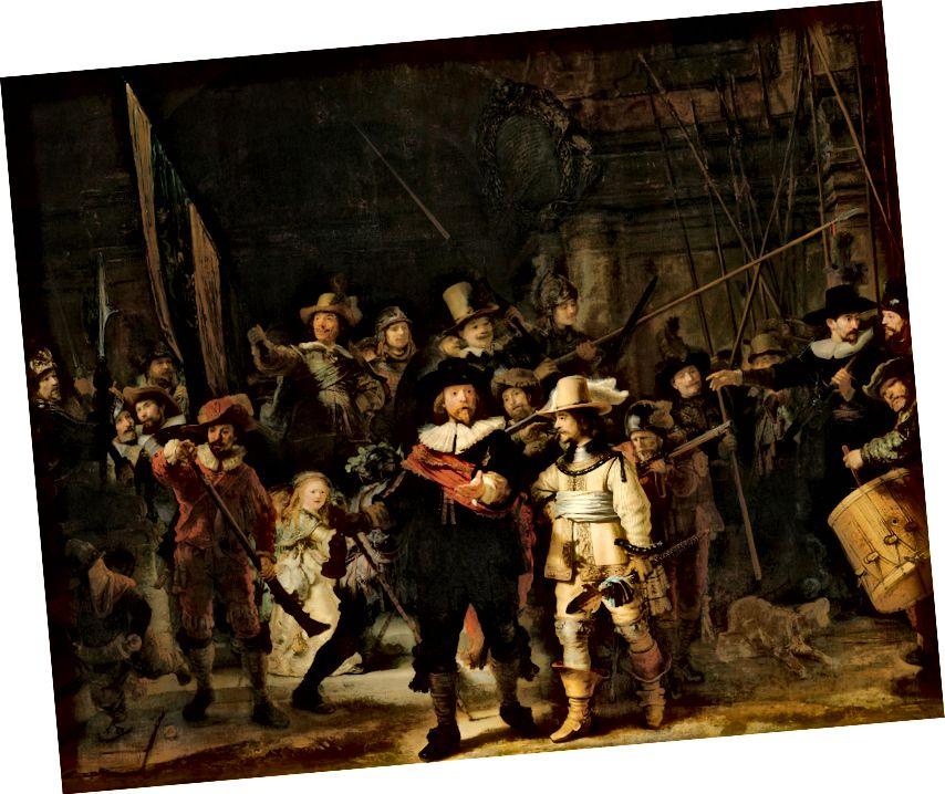 The Night Watch - رامبرانت فان راين. ج 1642