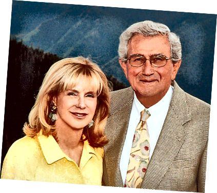 जॉन डायबियाजिओ नंतरच्या काही वर्षांत पत्नी नॅन्सीबरोबर.