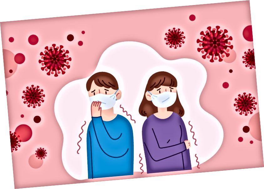कोविड -१ p साथीच्या आजारामुळे आपल्याला चिंता आहे? (शटरस्टॉक / वोकॅट)