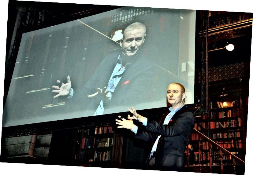 Gil Peretz - pembicara TEDx dan mentor tingkat C internasional