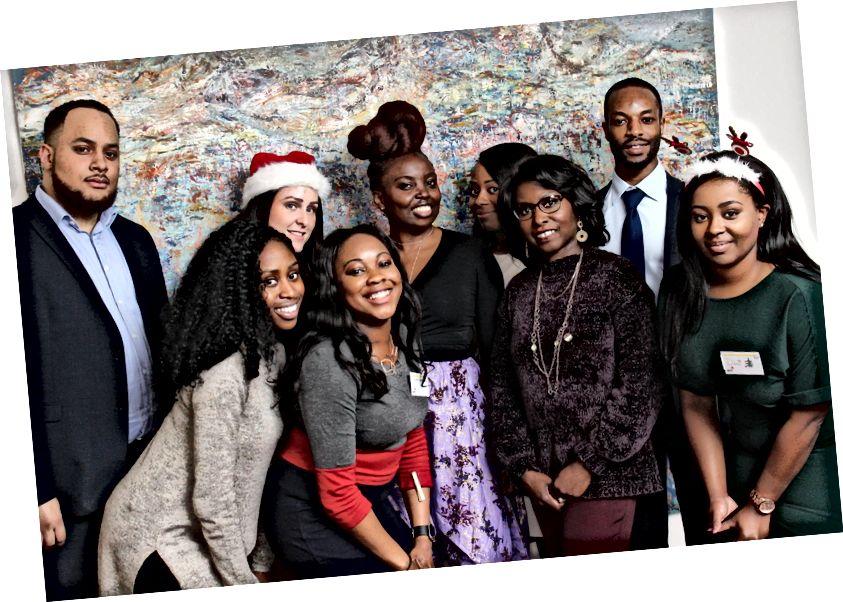 Årets slutning for PwCs multikulturelle forretningsnetværk