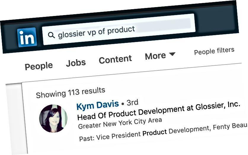 lol Vždy používám Glossier jako svůj příklad. Milujte jejich make-up a značky ...