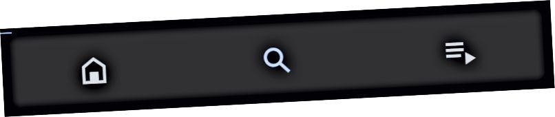 Klepnutím na ikonu lupy zobrazíte stránku prozkoumání