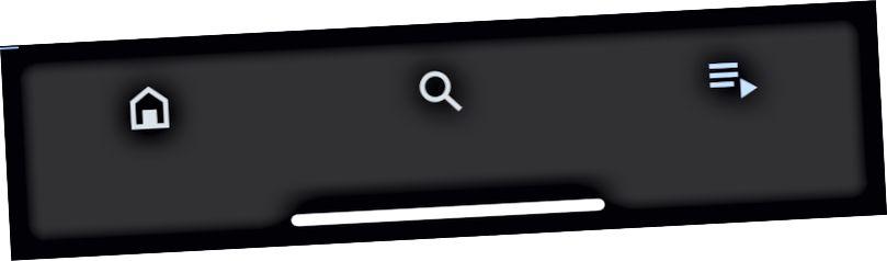 Klepnutím na 3 čáry se šipkou zobrazíte stránku aktivity