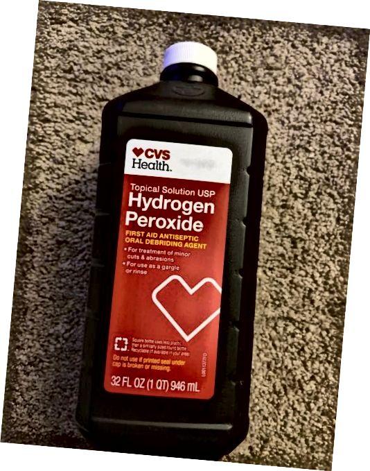 Peroxid vodíku CVS
