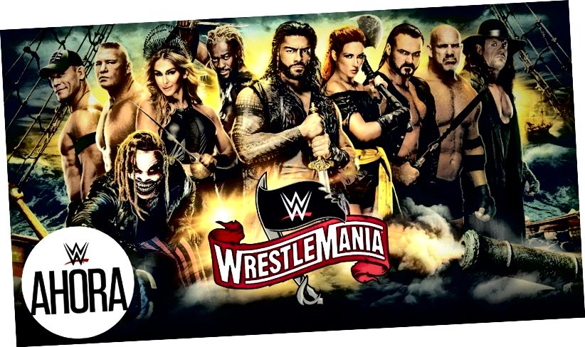 WWE WrestleMania 36 на живо