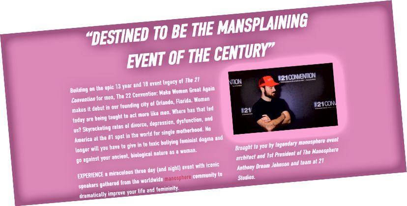 (Skärmdump från webbplatsen 22 Convention)