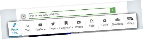 Vložte adresu URL z příspěvku na Facebooku nebo Instagramu nebo z jakéhokoli webu.