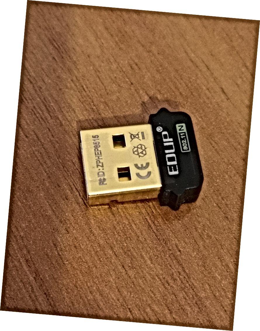 Lille wifi-dongle var ikke i stand til at oprette forbindelse pålideligt