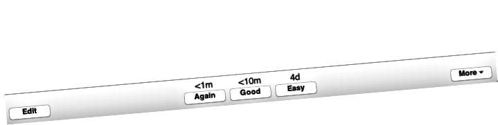 Η παραπάνω εικόνα είναι ένα παράδειγμα χρονικών διαστημάτων σε μια κάρτα Anki.