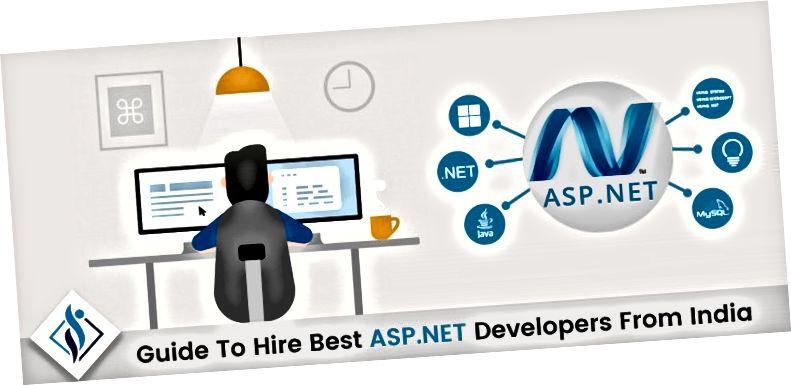 Užitečné tipy, jak najmout vývojáře ASP.NET od indických společností