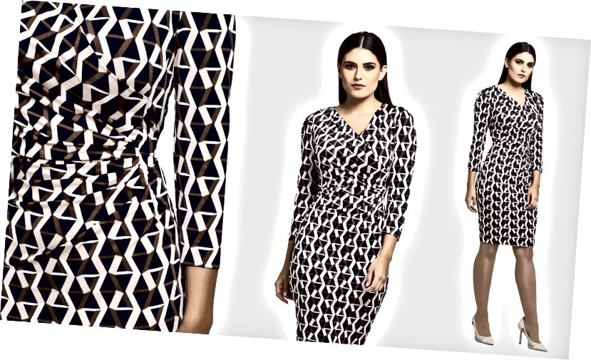 मिस्टी शर्टिंग रैप ड्रेस