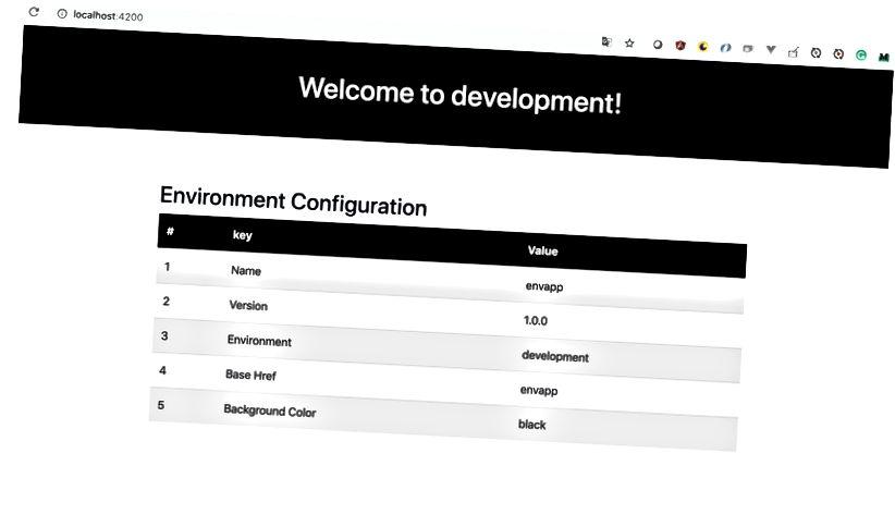 екран за развитие