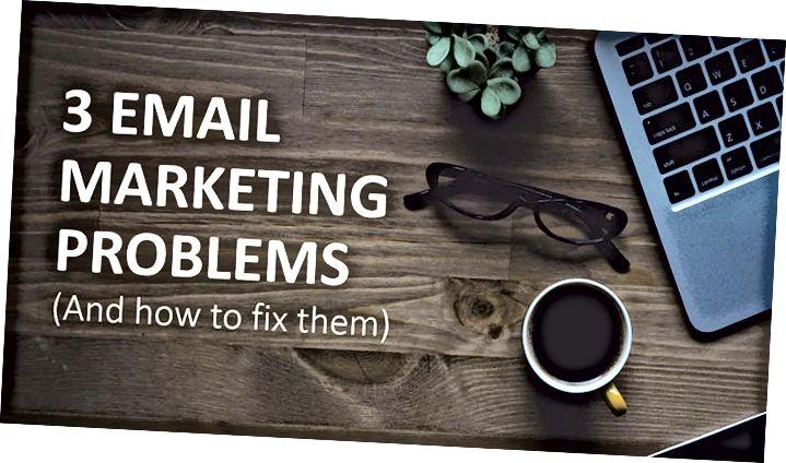 3 E-mailové marketingové chyby