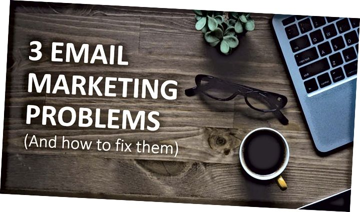 3 Fejl ved e-mail-marketing