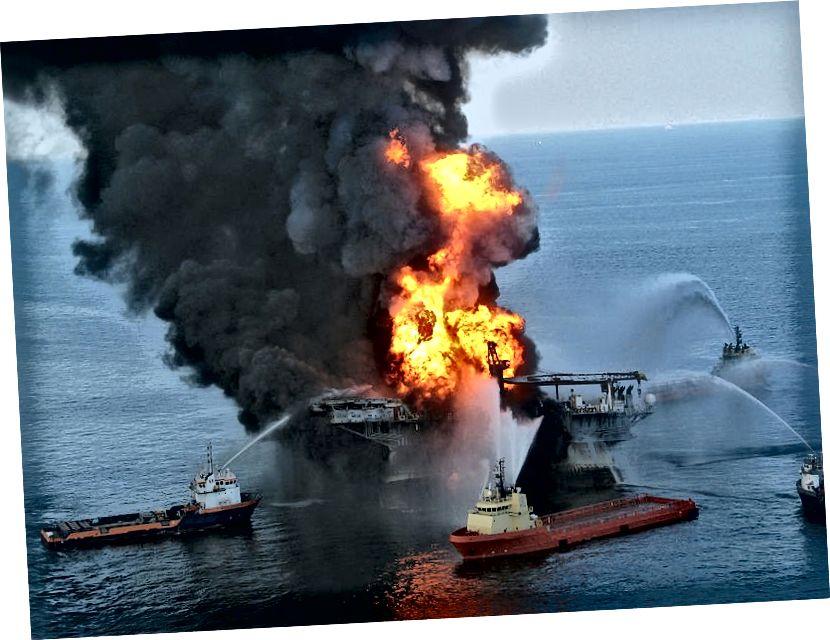Deepwater Horizon ნავთობის დაღვრაზე