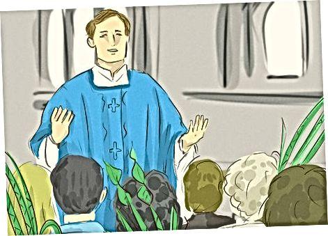 حضور در یک سرویس کلیسا