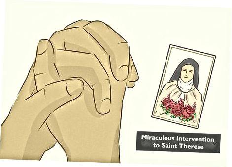 استفاده از سایر دعاها برای سنت ترزا