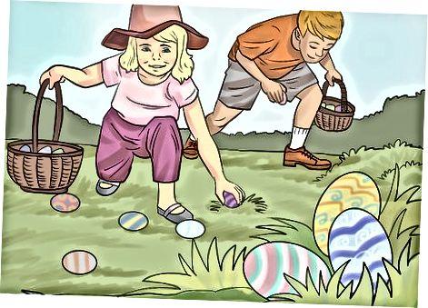 Bolalar uchun Pasxani qiziqarli qilish