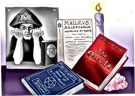 یادگیری در مورد جادوگری