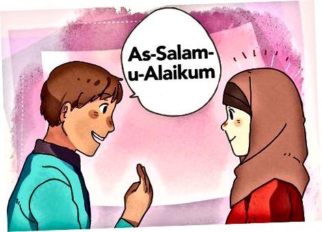 Tervitus moslemile, kui olete mitte-moslem