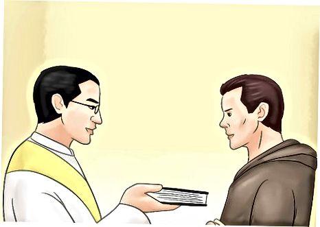تبدیل شدن به یک راهب مسیحی