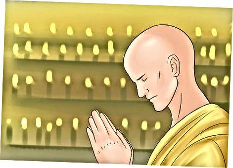 تبدیل شدن به یک راهب بودایی