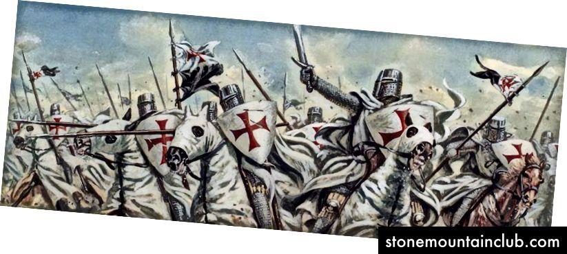 Knight Templar aslida bank tizimiga xos bo'lgan.
