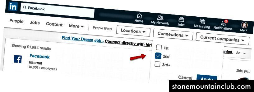 LinkedIn qidiruvi