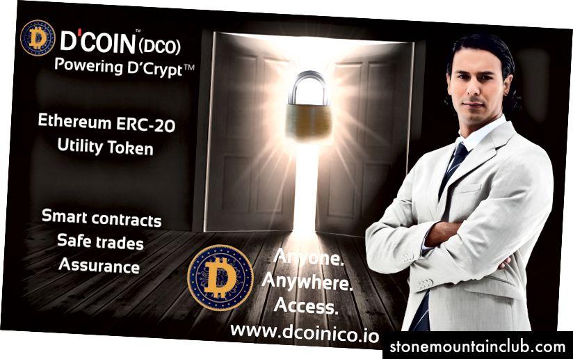 D'Coin ™ bu Powering D'Crypt ™ - Aql-idrokka asoslangan savdo uchun