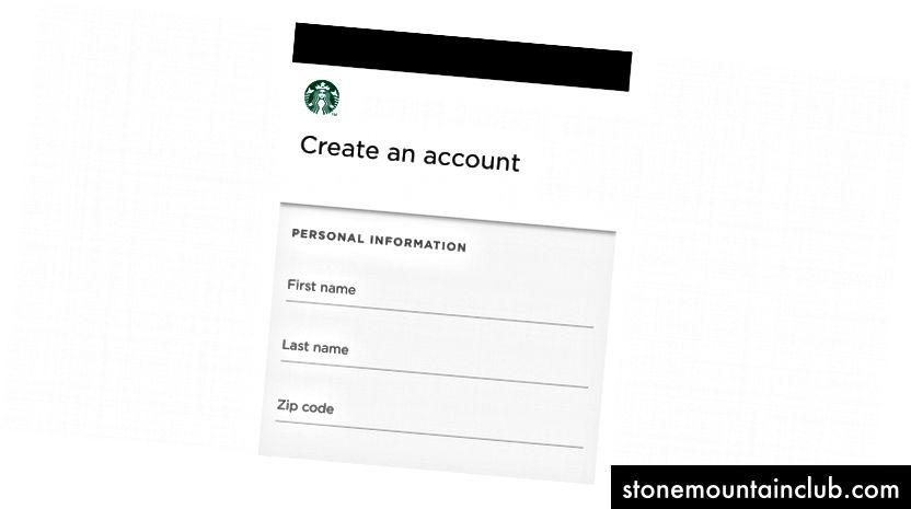 Starbucks PWA-da