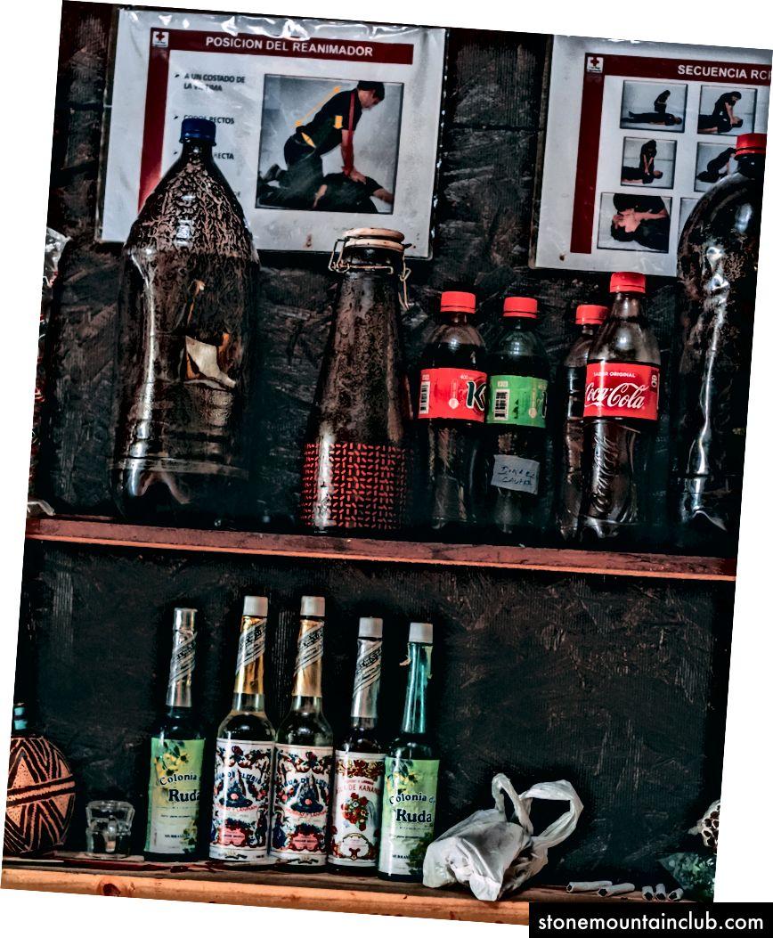 Coca-Cola butilkalarida saqlanadigan pivo. Muallifning fototuhfasi.