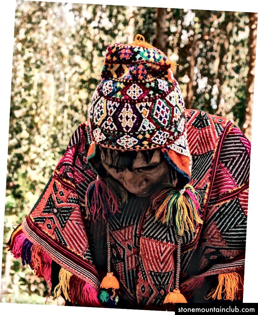 Menga tupurmagan shaman. Muallifning fototuhfasi.