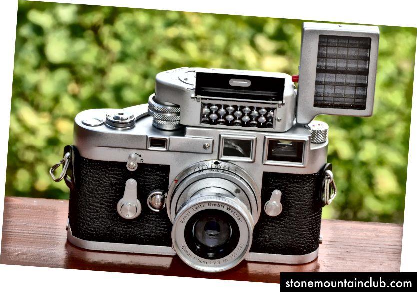 Devid Basecamp Classic-ni Leica M3 bilan taqqoslaydi: 1967 yildan beri ishlab chiqarilmagan, lekin Leica ular ishlayotgan paytda uni qo'llab-quvvatlashga va ta'mirlashga sodiqdir. (Rasmiy Dnalor 01)