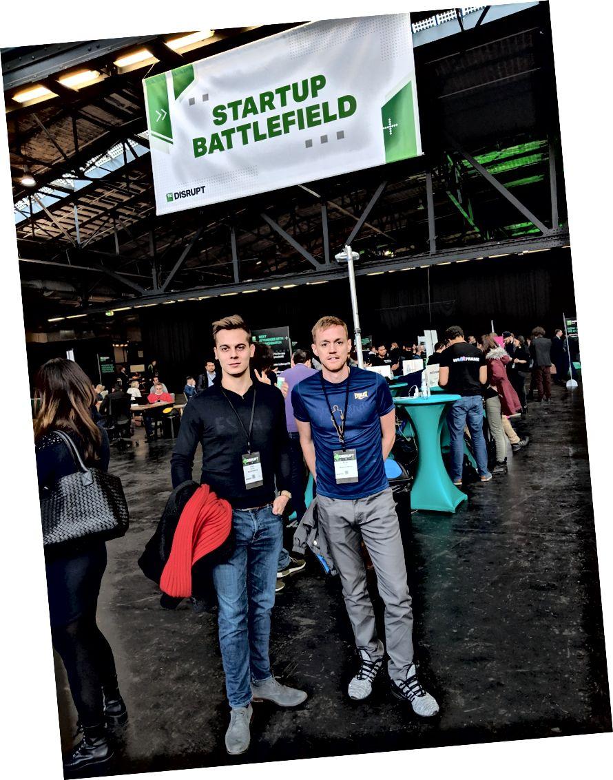 Bereit für den Kampf in Disrupt's Startup Battlfield