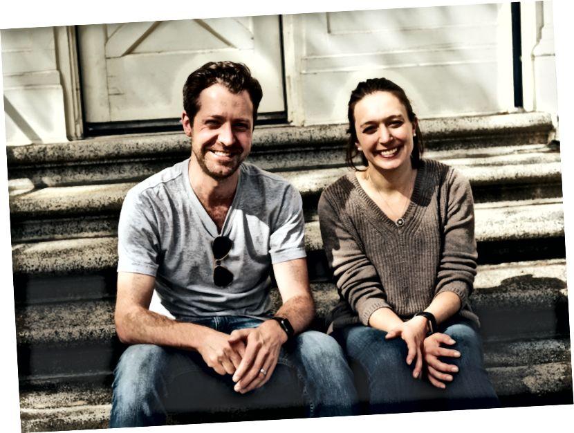 Dan Hill e Michelle Rittenhouse, co-fondatrici di ALMA